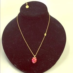 Juicy Couture Necklace with Strawberry pendant